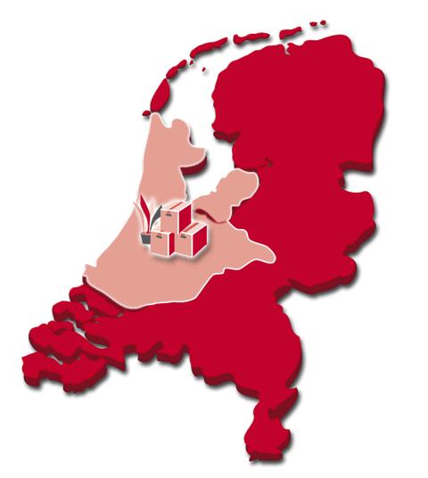 Het werkgebied van Inboedel Opruimen.com